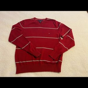 💥TOMMY HILFIGER red sweater